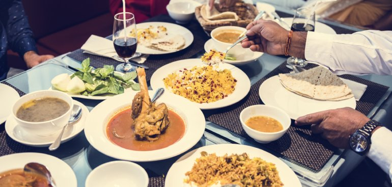 Mancare traditionala din India si alte tari din Europa si nu numai.